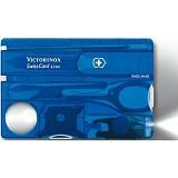 VICTORINOX Swisscard Lite [0.7322.T2] - Blue Translucent - Multi Tool